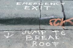 JUMP TO BREAK ROOF