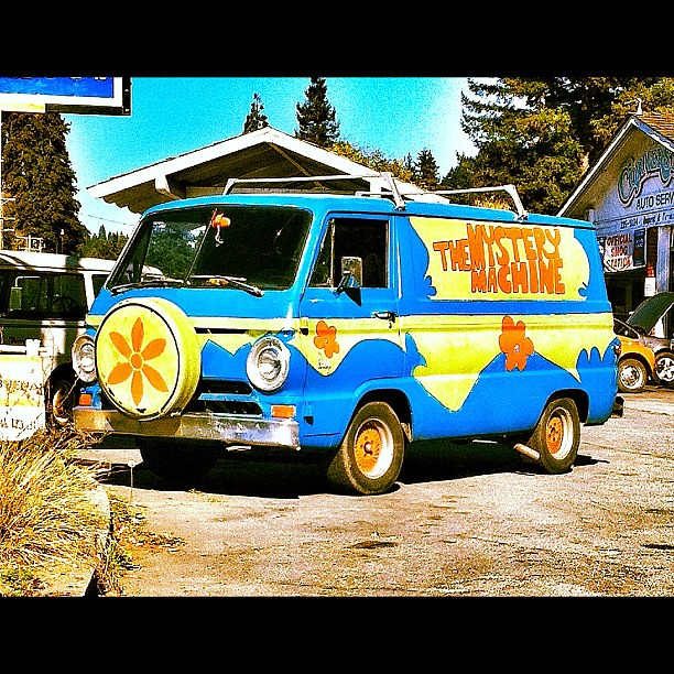 real mystery machine