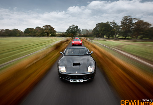 Ferrari 575 Superamerica, 360 Spider and 360 Challenge Stradale