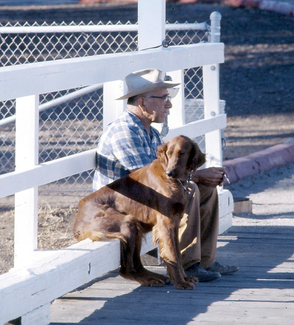 Man's Best Friend, San Simeon CA 1976