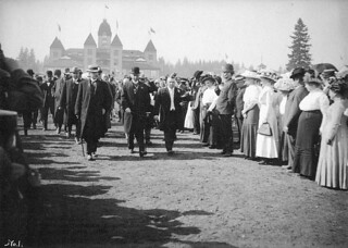 Sir Wilfrid Laurier at New Westminster, British Columbia, 1910 / Sir Wilfrid Laurier à New Westminster, Colombie-Britannique, 1910