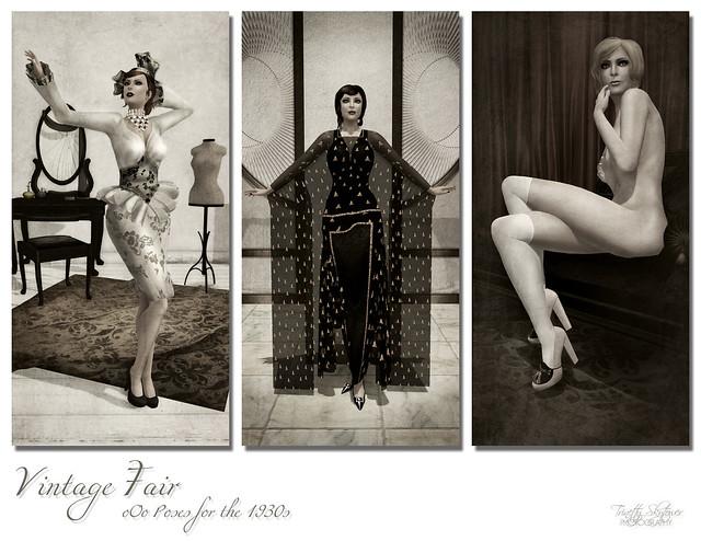 Vintage Fair ~ oOo Poses 1930s