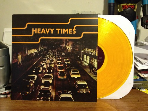 Heavy Times - Jacker LP - Gold Vinyl /200