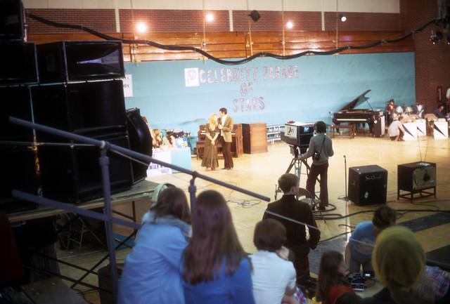 Leonard Nimoy & Conny Van Dyke in Kearney, Nebraska at a Telethon