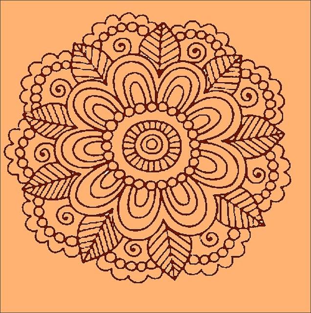 Henna Tattoo Motif  Flickr  Photo Sharing