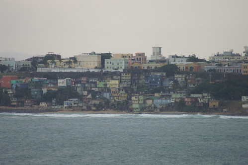 LOVE the colors of the buildings in Puerto Rico