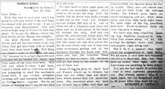Everett Newman letter, 11-17-1918