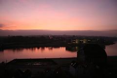 Sunset over Sonderborg