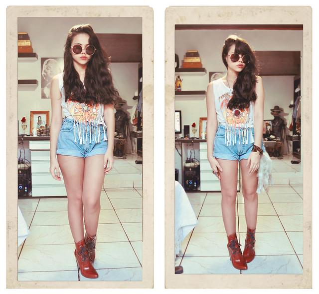 Clara Campelo - 70's Look