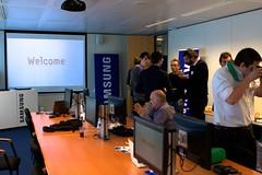 Het Samsun SSD Pers Event