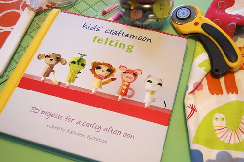 Kids' Crafternoon Felting by Kathreen Ricketson