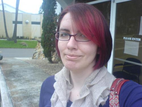New hair cut/color!