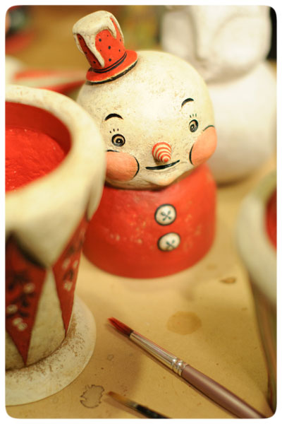 Snowman-Candy-Container