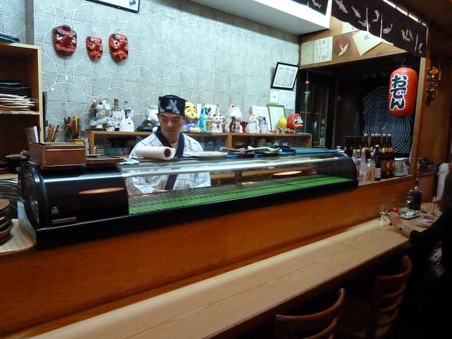 Barra de Sushi de Naomi