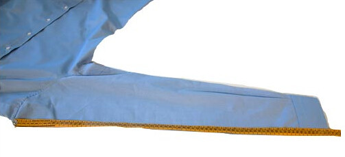 Prendere le misure delle maniche per camicie su misura