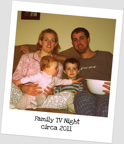 Family TV Night by SashaWarner