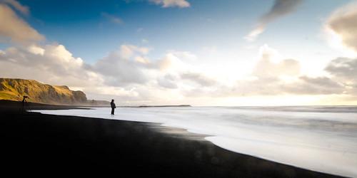 sea sun clouds sunrise iceland sand cloudy ndfilter sigma1020 nikond7000