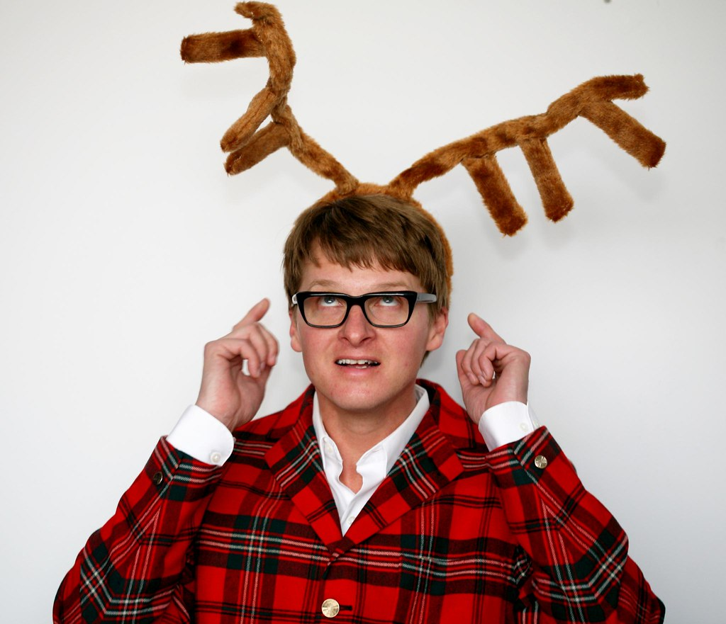 Steve with floppy antlers