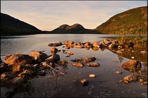 usa maine newengland explore frontpage acadia mountdesertisland jordanpond acadianationalpark sealharbor thebubbles