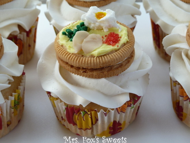 recipe: thanksgiving dinner cupcakes [17]