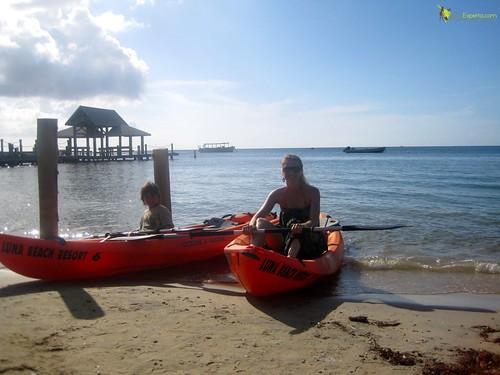 Family Activity Kayaking