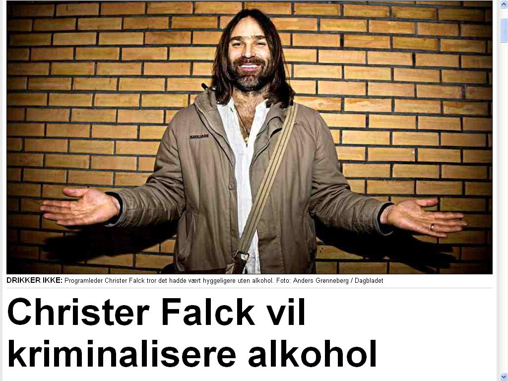 christer falck kriminalisere alkohol