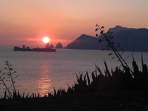 Capri Sunset by nickiposi