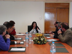 Συνάντηση με το Σύλλογο Μονίμων Υπαλλήλων Υπουργείου Ανάπτυξης