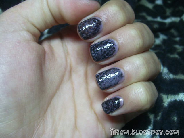 Snake Skin Nails Tutorial (3)