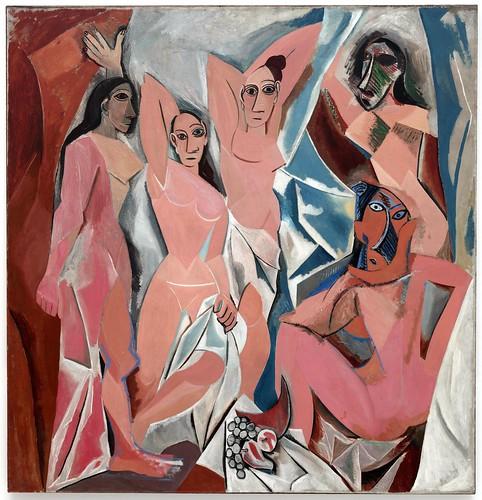 Pablo Picasso - Les Demoiselles d'Avignon [1907] by Gandalf's Gallery