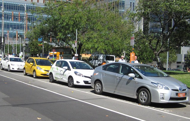 Share cars in William Street