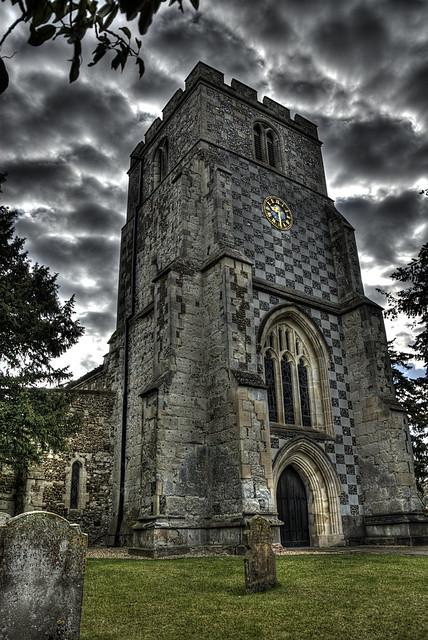 St Nicholas Church Barton-Le-Clay