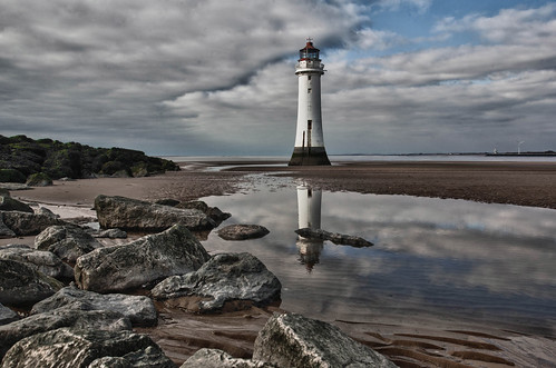 New Brighton Lighthouse.