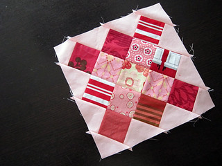 Granny block with Triangles Variation
