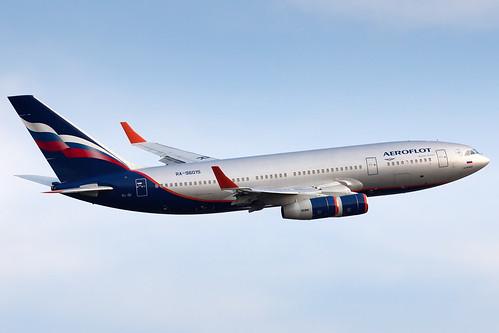 Aeroflot Ilyushin Il-96-300 RA-96015