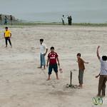 Cricket Along the Ganges (Padma) - Rajshahi, Bangladesh