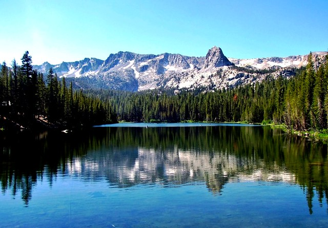 Lake George Reflections Mammoth Lakes California