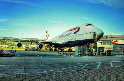 London Heathrow U.K. -  Boeing 747-400 06