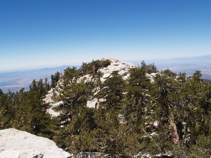 Marion Mountain East Summit view toward West Summit