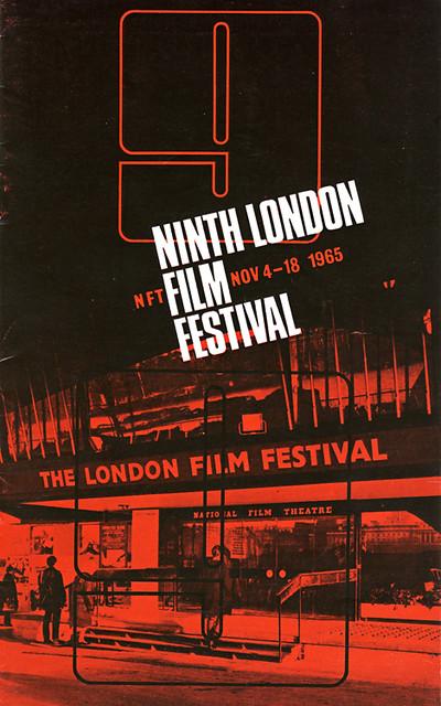 1965 London Film Festival Poster 2