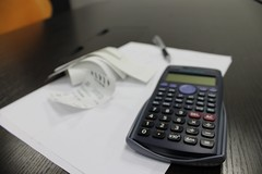 cash(0.0), computer keyboard(0.0), office equipment(1.0), gadget(1.0), calculator(1.0),