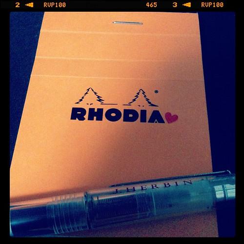 ロディアの表紙に貼ってみた♥ - 無料写真検索fotoq