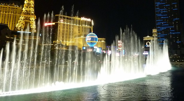 Bellagio Fountains From Olive 39 S Balcony Explore H