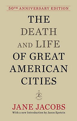 Book cover, The Death and Life of Great American Cities