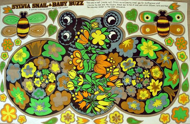 Sylvia Snail & Baby Buzz
