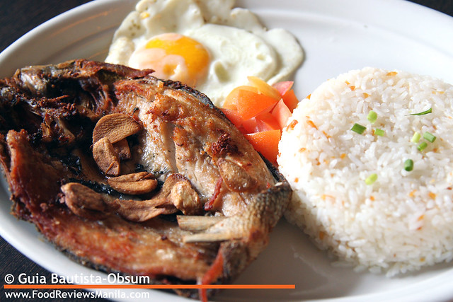 Las Paellas Fried Garlic Bangus
