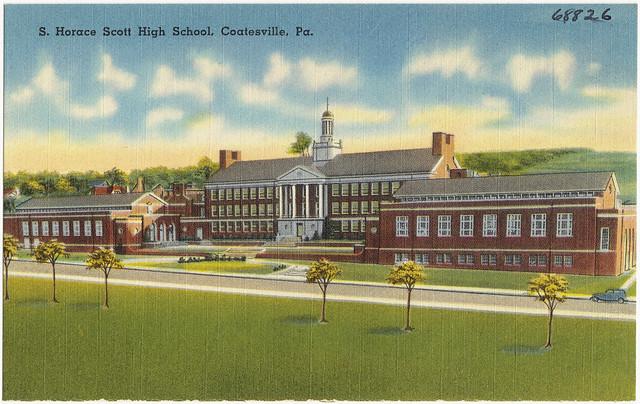 S. Horace Scott High School, Coatesville, Pa. | Flickr ...