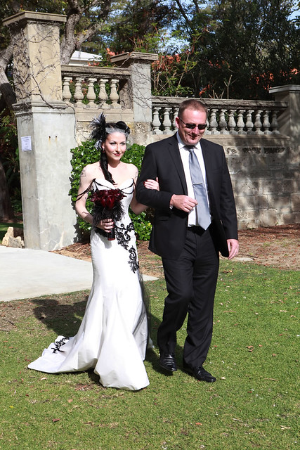 Tanya Ross 39 elegant Victorian gothic wedding