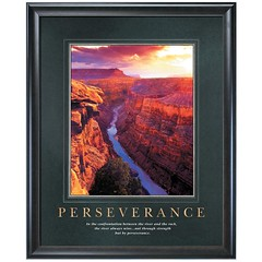 Perseverance Motivational Poster on Perseverance Motivational Poster