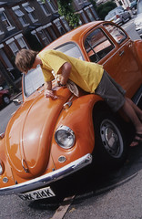 JJ takes care of the Beetle